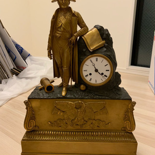 【骨董品】ナポレオンの置き時計
