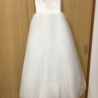 格安ウェディングドレス(カバー付き)