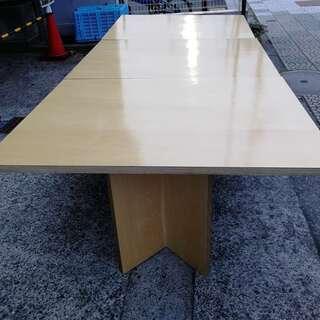 8点セット  テーブル4点 + 2脚椅子  美品オフェンス用品 ...