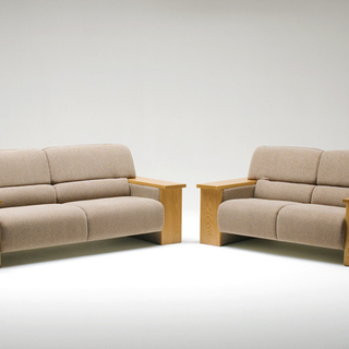 木のぬくもりでリラックス 2人掛けソファ 旭川家具