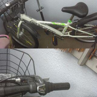 ☆小学生2年生前後の子供用の自転車です。24インチです。ギア付き...