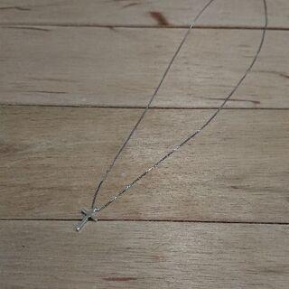 ネックレス シルバー 十字架 未使用 レディース