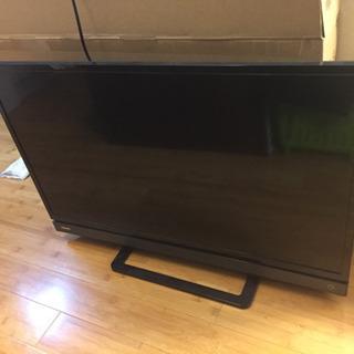 (受け渡し予定者あり)液晶テレビ32型 REGZA 液晶割れ