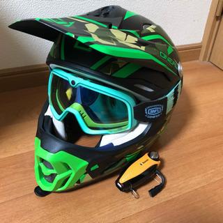 オフロードバイク ヘルメット