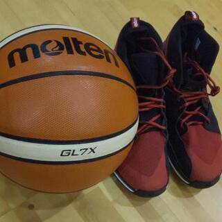 今日(16日)20時~22時具志川中学校体育館でバスケ