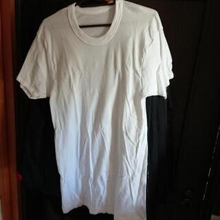 グンゼ・メンズ白い肌着LLサイズ・2枚セット