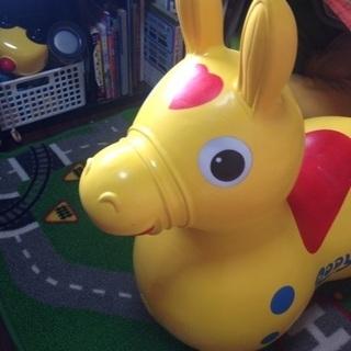 ロディ ポンポンお馬さん イエロー 黄色 RODY 乗用玩具 キッ...