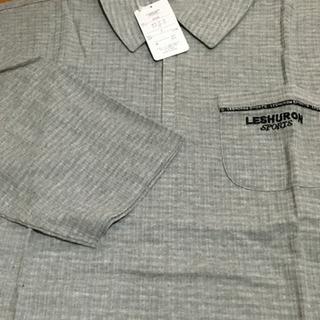 紳士ポロシャツ七分袖M新品
