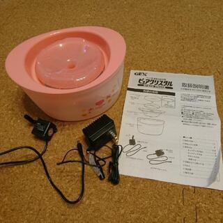 ペット用 循環式給水器ピュアクリスタル