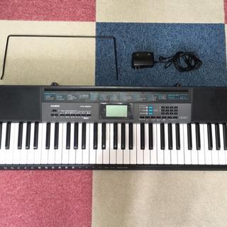 中古美品 CASIO カシオ 電子キーボード 61鍵盤 CTK-...