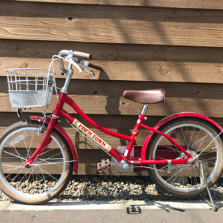 子供用自転車 あさひ 赤色 18インチ