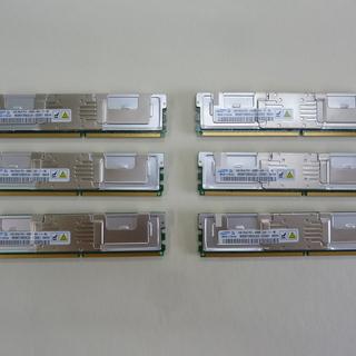 PC2-4200F 1GB6枚組(ジャンク)