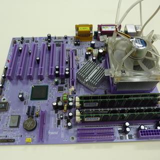 SOLTEK SL-86SPE-L(CPU,メモリ,ビデオカード...