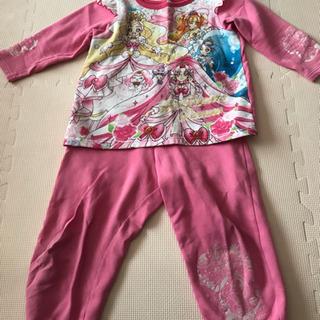 プリンセスプリキュアの光るパジャマ(冬用)