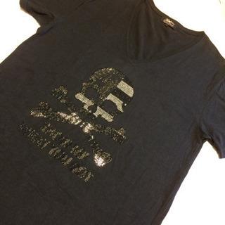 AZUL  Tシャツ ブラック 黒 L メンズ