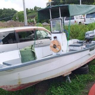 和船 船外機 釣船 小型