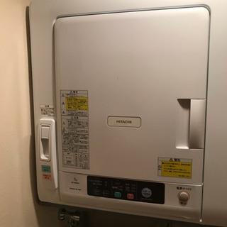 『値下げ』日立衣類乾燥機5.0kg2016年製