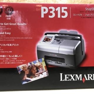 新品未開封 Lexmark P315 コンパクト・フォトプリンタ ...
