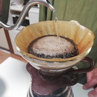 コーヒードリップ…主張します👍