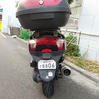 キムコ ダウンタウン125i 125ccバイク