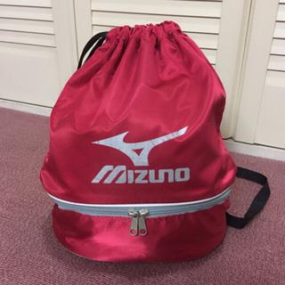 MIZUNO:プールバッグ 赤