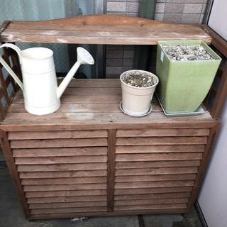 木製エアコンカバー
