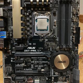 【お取引中】ASUS Z97 Pro マザーボード、CPU、メモリセット