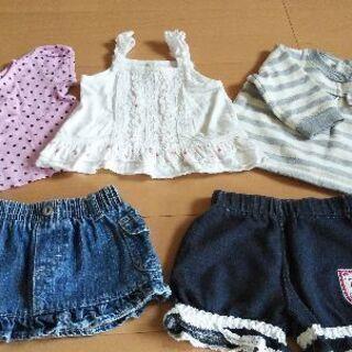 ⭐︎女児服セット 5着300円