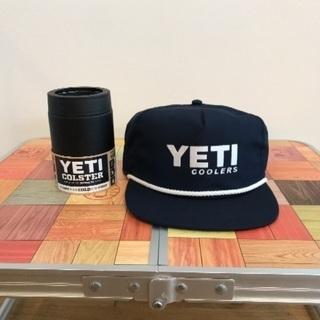 日本未発売 YETI キャップ 新品 & クーラーズタンブラー