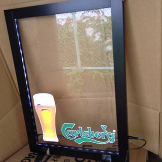 新品 カールスバーグ  LEDメニューボード