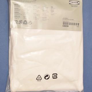【あげます】 イケアのLILLカーテン 白 IKEA 新品 <手渡...