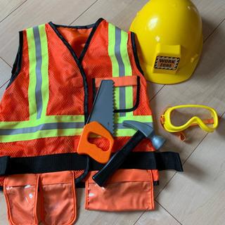 ハロウィンコスチューム🌟工事の人🌟3歳から6歳