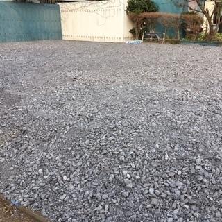 土地 資材置き場 駐車場 水道栓付き 160㎡ほど 砂利敷 礼金...