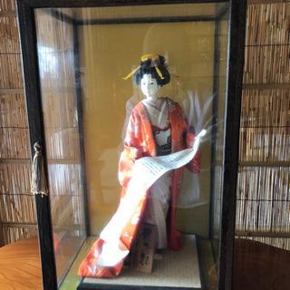 日本人形とセットで