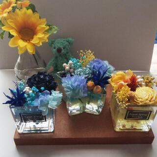 7/20限定アクアジュエル ジェルで作る花の宝石箱ワークショップ
