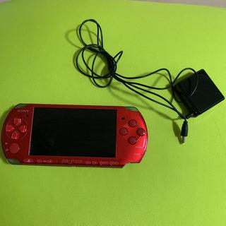 PSP 3000 本体 バッテリー新品 中古
