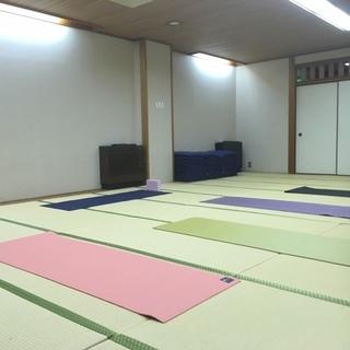 【7/24】ヨガ教室~高槻駅周辺で開催中~