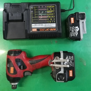 マックス 14.4V インパクトドライバー 12.000円