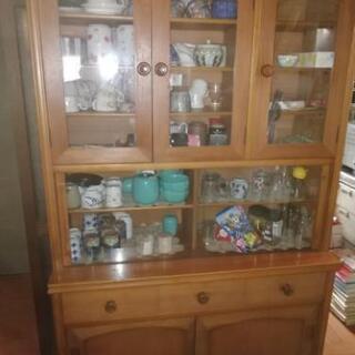 昭和レトロ 食器棚