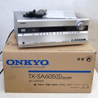ONKYO AVセンター TX-SA605 AVアンプ 箱・取扱説...