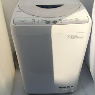 SHARP(シャープ)★全自動洗濯機★ES-FG45L★容量4.5...