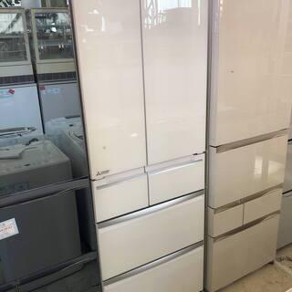 《スマート大容量!》三菱◆2017年製 冷凍冷蔵庫 MR-WX47...