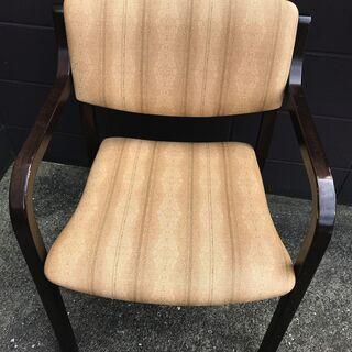 背もたれ・ひじ掛け付き椅子 6脚セット