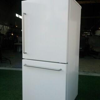 《無印・2017年製》157L 2ドア 電気冷蔵庫 MJ-R16A...
