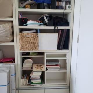 【無料】本棚、二段ベッド