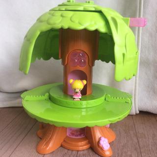 こえだちゃん  木のおうち 女の子 おもちゃ