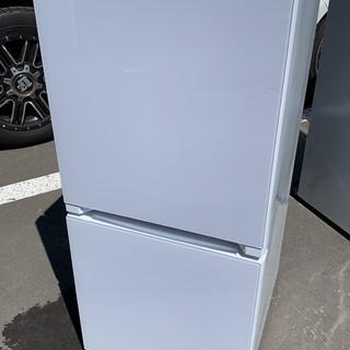 ハイセンス 2ドア冷蔵庫 美品 134L Mの画像