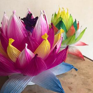 紙で作る花/ハスワーク