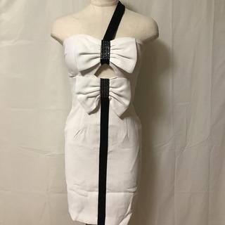 リボン タイト ドレス ワンピース