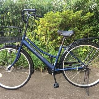 シティサイクル MAGNUS 26インチ ブルー
